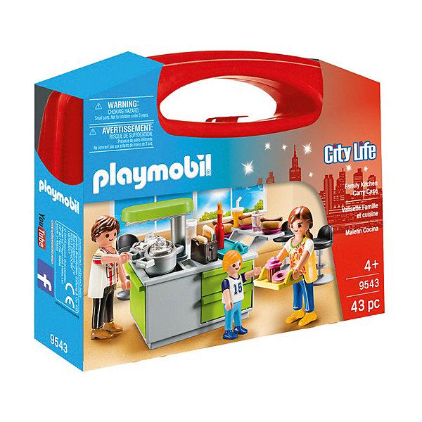 Купить Игровой набор Playmobil «Кухня», PLAYMOBIL®, Мальта, разноцветный, Женский