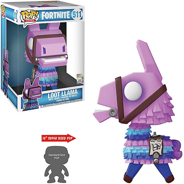 Funko Фигурка POP! Vinyl: Games: Fortnite S3: Лама-пиньята, 39049