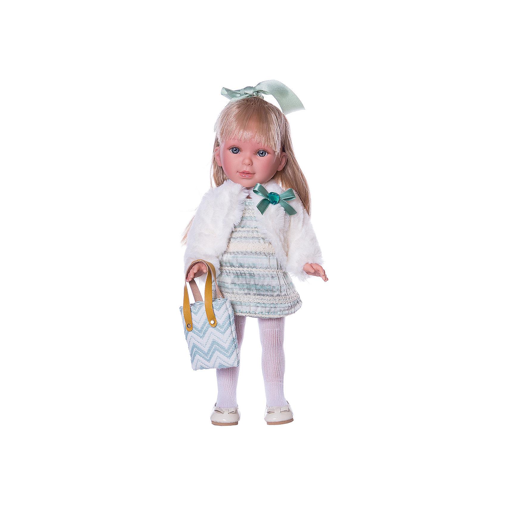 Кукла Vestida de Azul Pre-Spring Паулина, блондинка с челкой