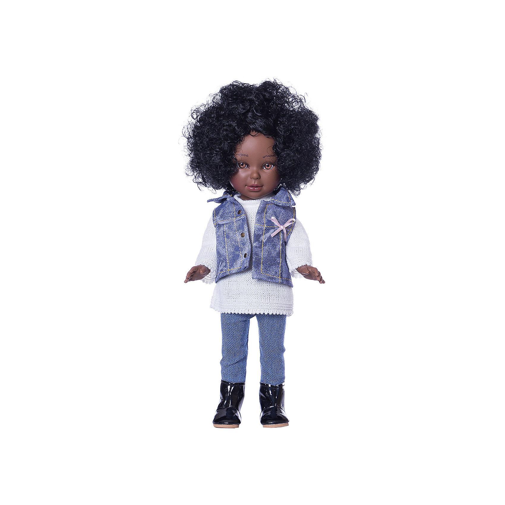 Кукла Vestida de Azul Pre-spring Паулина, африканка