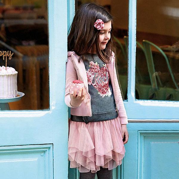 Купить Комплект Mayoral: свитшот и юбка, Китай, светло-розовый, 134, 128, 104, 110, 92, 122, 116, 98, Женский