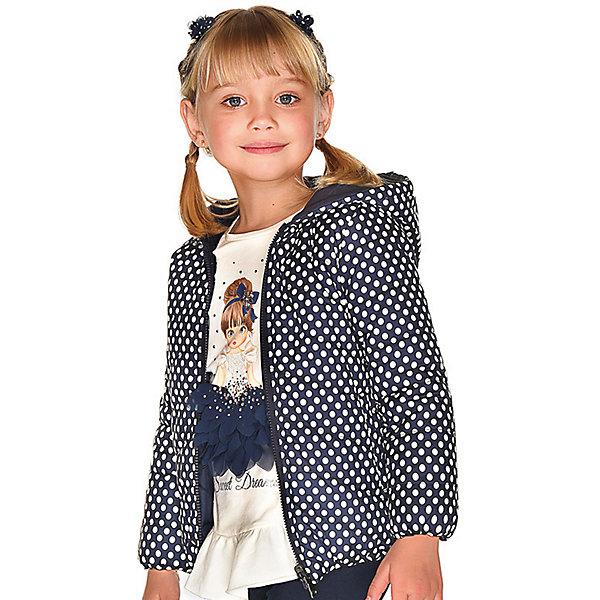 Купить Демисезонная куртка Mayoral, Мьянма, темно-синий, 116, 134, 110, 128, 98, 92, 122, 104, Женский