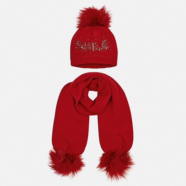 Mayoral Комплект: шапка и шарф Mayoral mayoral комплект шапка шарф для мальчика mayoral