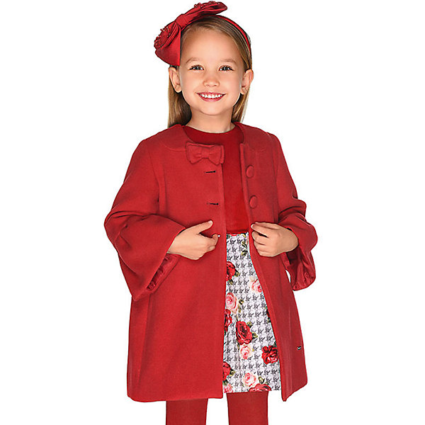 Купить Нарядное платье Mayoral, Китай, красный, 134, 122, 92, 128, 110, 116, 104, 98, Женский