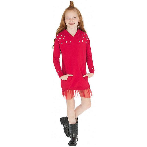 Купить Платье Mayoral, Турция, красный, 152, 160, 167/172, 140, 128, 158, Женский