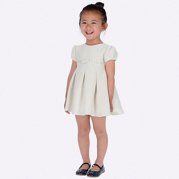 Купить Нарядное платье Mayoral, Китай, грязно-белый, 134, 104, 128, 122, 92, 116, 110, 98, Женский