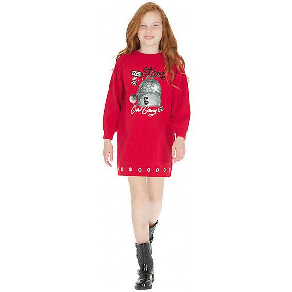 Купить Платье Mayoral, Турция, красный, 128, 152, 160, 158, 140, 167/172, Женский