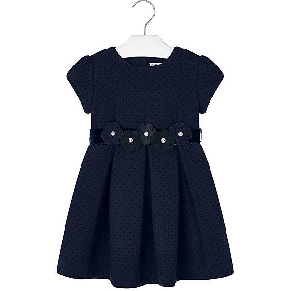 Купить Нарядное платье Mayoral, Турция, темно-синий, 116, 92, 128, 98, 122, 110, 104, 134, Женский