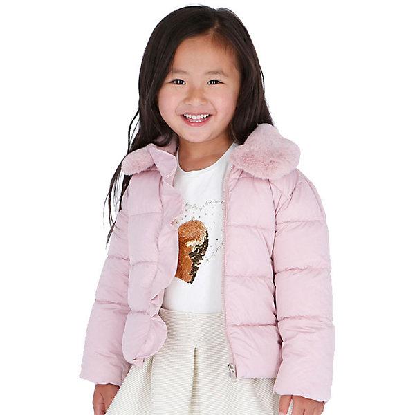 Купить Демисезонная куртка Mayoral, Мьянма, светло-розовый, 134, 92, 122, 110, 116, 104, 98, 128, Женский