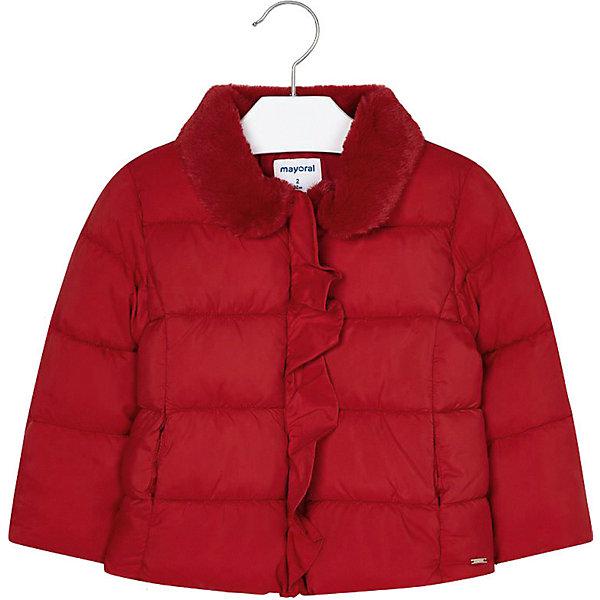 Купить Демисезонная куртка Mayoral, Мьянма, красный, 128, 92, 98, 110, 122, 134, 104, 116, Женский