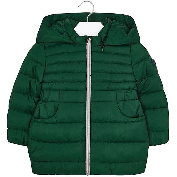 Купить Демисезонная куртка Mayoral, Мьянма, темно-зеленый, 110, 128, 134, 116, 98, 92, 104, 122, Женский