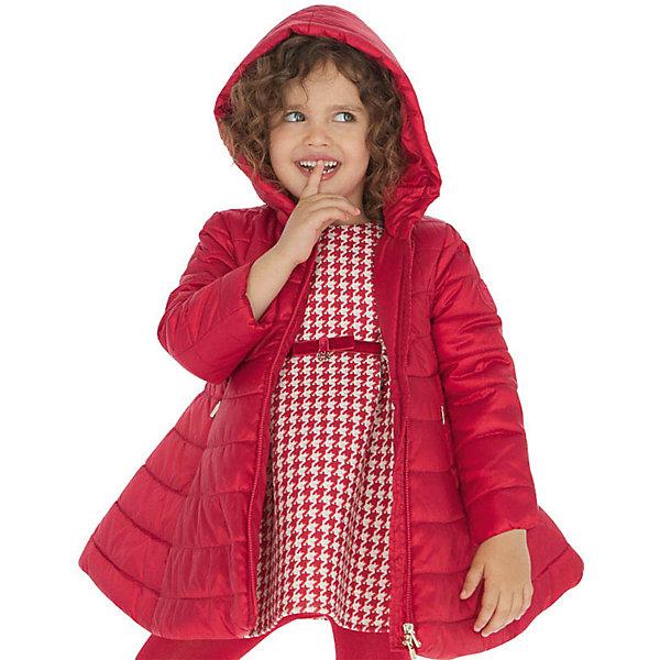 Купить Демисезонная куртка Mayoral, Мьянма, красный, 134, 128, 92, 116, 104, 98, 122, 110, Женский