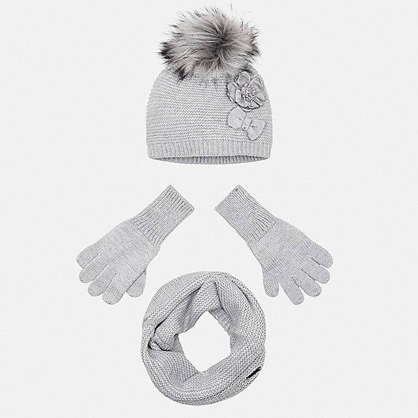 Mayoral Комплект: шапка, шарф и перчатки