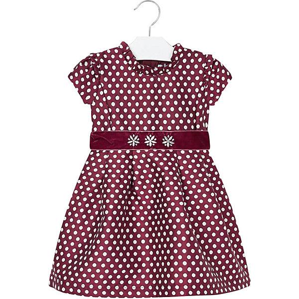 Купить Нарядное платье Mayoral, Китай, красный, 116, 110, 98, 134, 128, 104, 122, 92, Женский