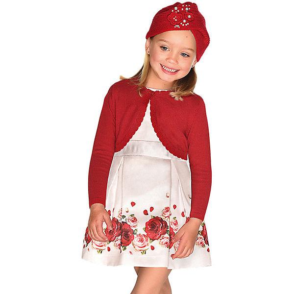 Купить Нарядное платье Mayoral, Китай, бежевый, 98, 122, 128, 104, 110, 116, 92, 134, Женский