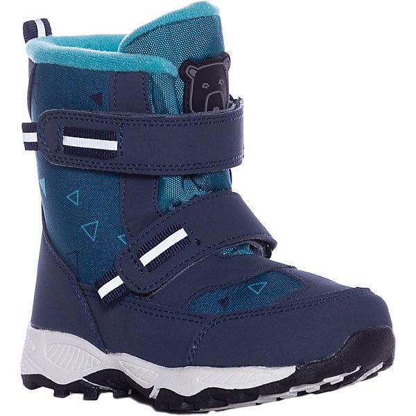 Купить Утеплённые ботинки Color Kids Siguro, Китай, синий, 34, 35, 33, 29, 31, 32, 26, 30, 28, 25, 27, 24, Мужской