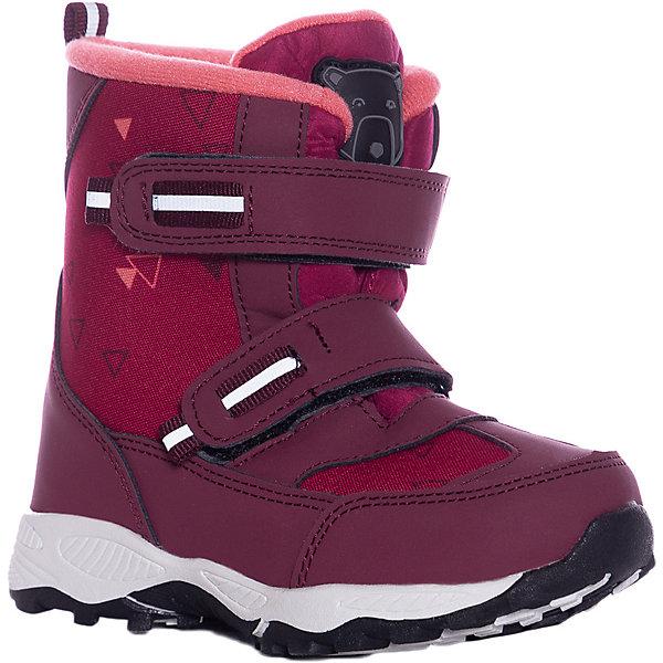 Купить Утеплённые ботинки Color Kids Siguro, Китай, розовый, 34, 29, 26, 24, 25, 27, 33, 30, 32, 31, 35, 28, Женский