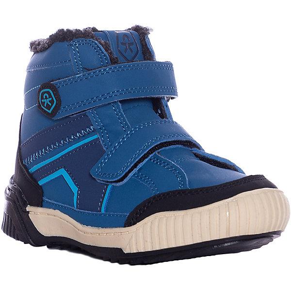 Купить Утеплённые ботинки Color Kids Kemi, Китай, синий, 32, 25, 33, 30, 24, 23, 29, 27, 22, 28, 26, 31, Мужской