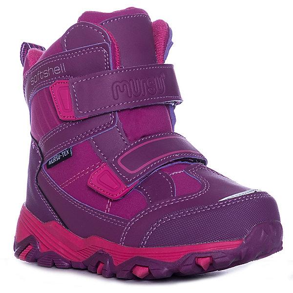 Утеплённые ботинки Mursu фото