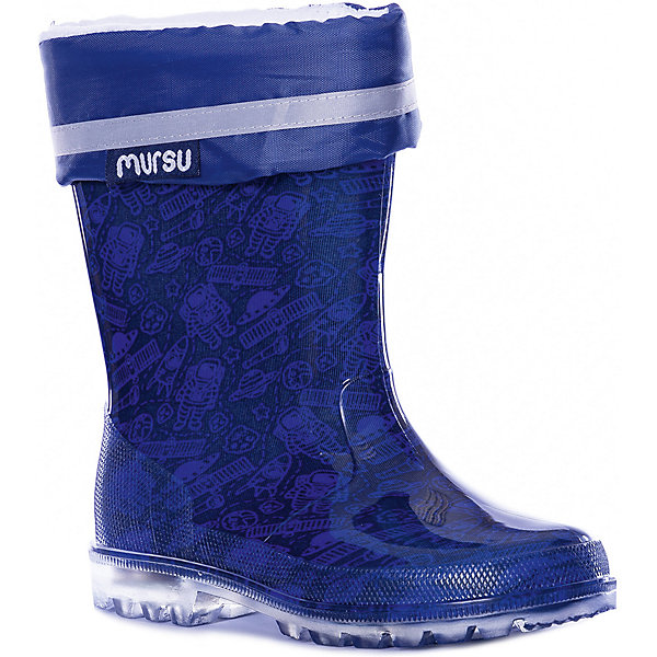 MURSU Резиновые сапоги Mursu mursu mursu сапоги зимние серо голубые