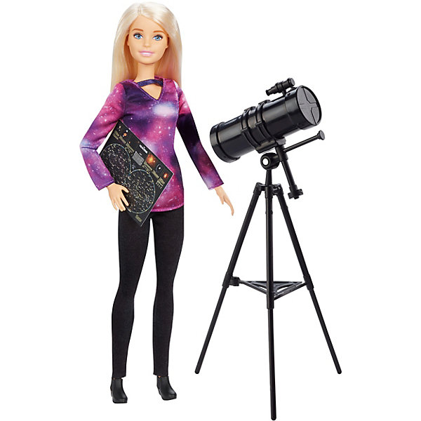 Mattel Кукла Barbie Кем быть? National Geographic Астрофизик