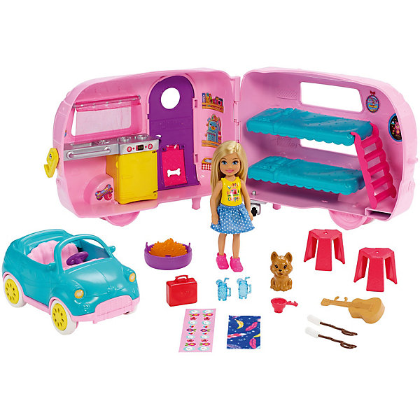 Mattel Игровой набор Barbie Фургон Челси