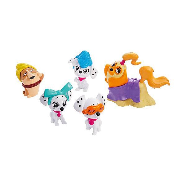 Mattel Набор фигурок Disney Улица 101 Далматинца Спа-коллекция