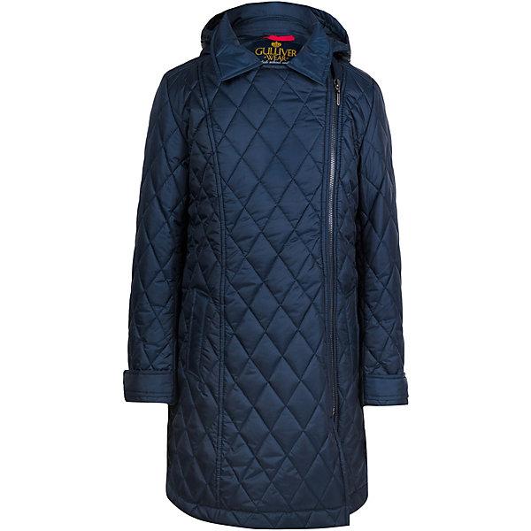 Купить Демисезонная куртка Gulliver, Китай, темно-синий, 140, 158, 146, 122, 128, 134, 152, 170, 164, Женский