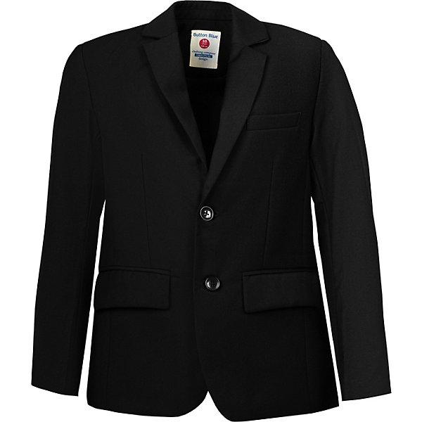 Купить Пиджак Button Blue, Китай, черный, 164, 170, 134, 158, 146, 152, 128, 122, 140, Мужской