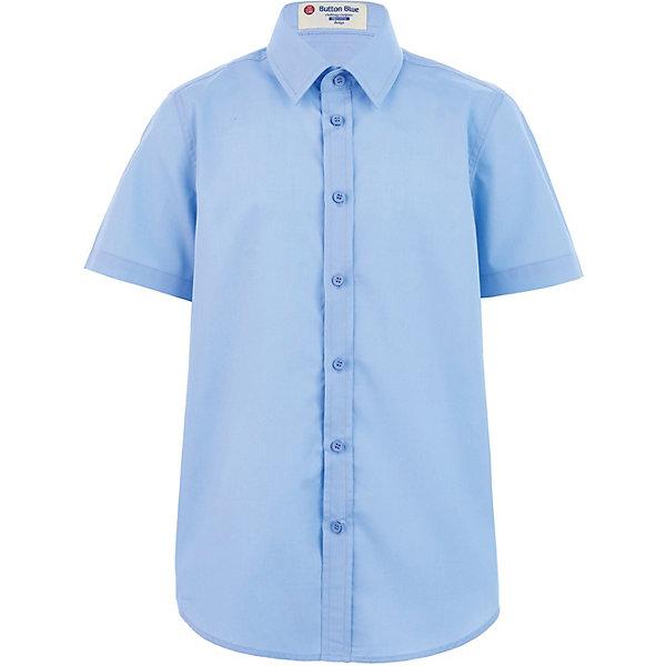 Button Blue Рубашка