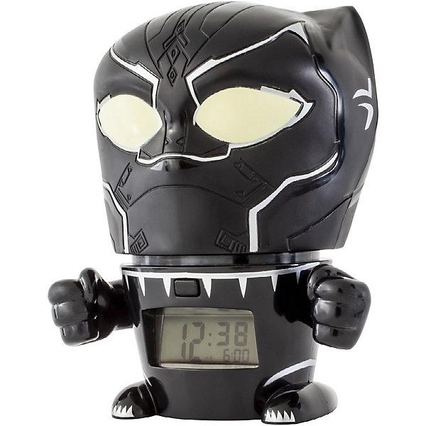 Детское время Будильник Kids Time BulbBotz Marvel «Черная пантера» минифигура