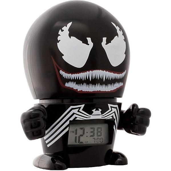 лучшая цена Детское время Будильник Kids Time BulbBotz Marvel «Веном» минифигура