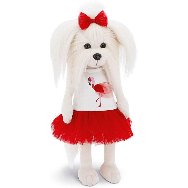 Orange Мягкая игрушка Lucky Doggy Собака Mimi: Любовь и Фламинго, 25 см