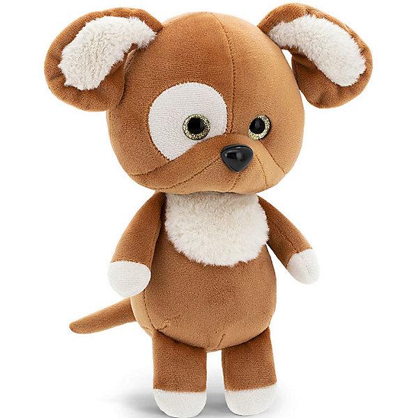 Купить Мягкая игрушка Orange Mini Twini Щенок, 20 см, Китай, коричневый, Унисекс