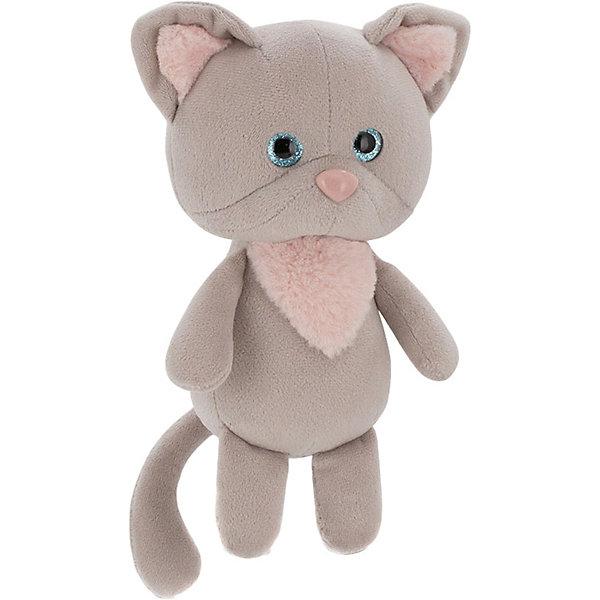 Купить Мягкая игрушка Orange Mini Twini Котёнок, 20 см, Мягкая игрушка Orange Mini Twini Котёнок серый, Китай, Унисекс