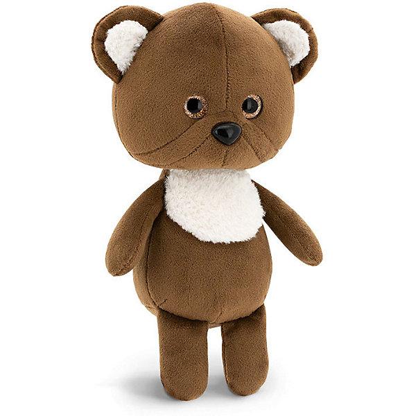 Купить Мягкая игрушка Orange Mini Twini Медвежонок, 20 см, Китай, коричневый, Унисекс