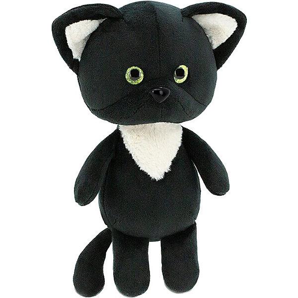 Купить Мягкая игрушка Orange Mini Twini Котёнок чёрный, 20 см, Китай, черный, Унисекс