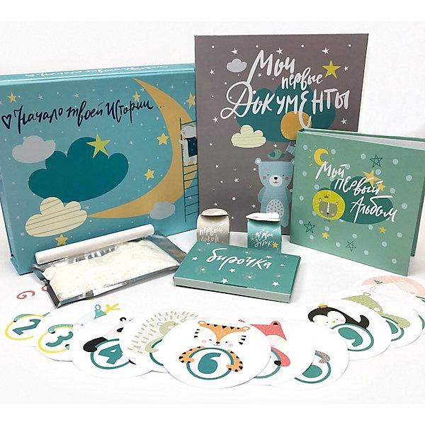 Фото - Happy Line Главный набор для новорожденного мальчика мозаика синтез профессии книги на картоне с вырубкой важные профессии