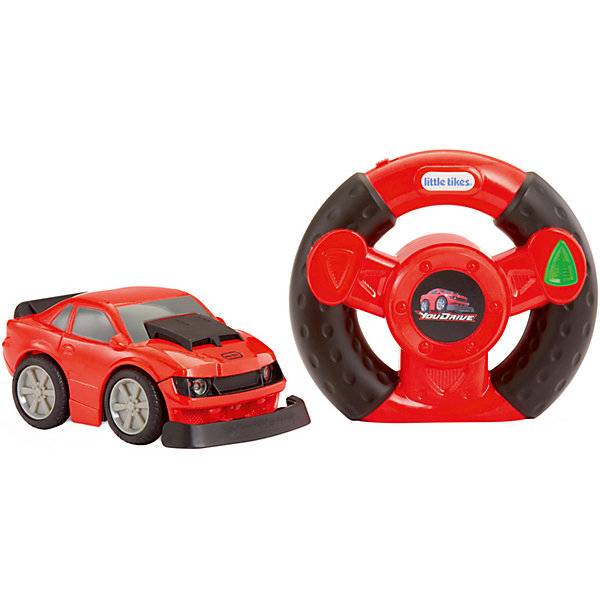 Little Tikes Машинка You Drive Спорткар, красная