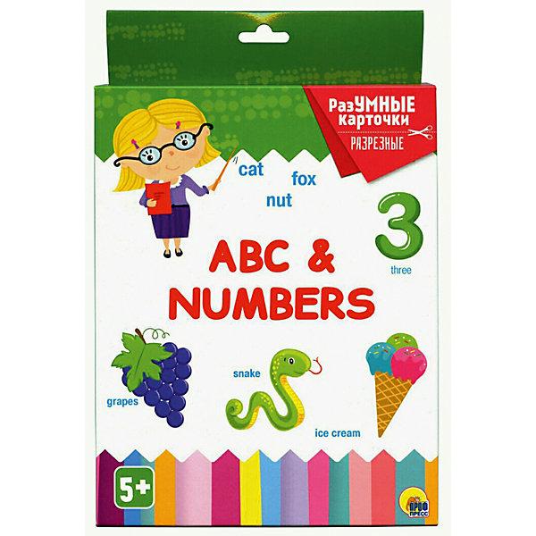 Проф-Пресс Карточки «Разумные карточки. Abc & numbers» стоимость