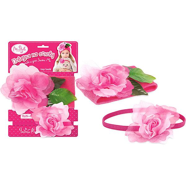 Budi Basa Комплект повязок на голову Toy Look Цветы