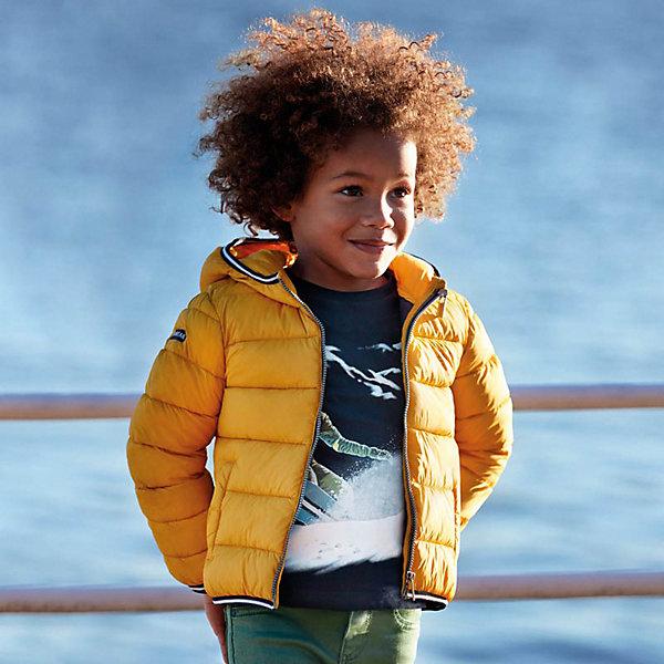 Купить Демисезонная куртка Mayoral, Мьянма, желтый, 98, 104, 110, 128, 92, 116, 134, 122, Мужской