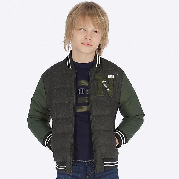 Купить Демисезонная куртка Mayoral, Китай, серый, 164, 140, 128, 160, 152, 167/172, Мужской