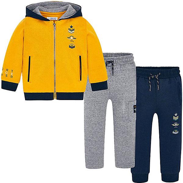 Купить Спортивный костюм Mayoral, Китай, желтый, 98, 134, 104, 92, 110, 122, 128, 116, Мужской