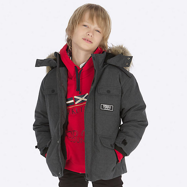 Купить Куртка Mayoral, Китай, черный, 152, 128, 164, 167/172, 160, 140, Мужской