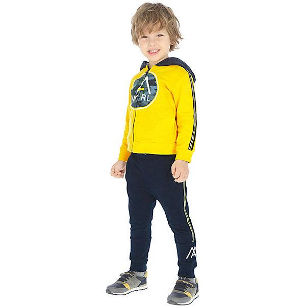 Купить Спортивный костюм Mayoral, Китай, желтый, 128, 92, 110, 122, 134, 116, 104, 98, Мужской