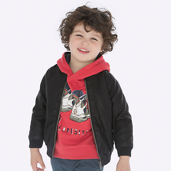 Mayoral Кожаная куртка Mayoral