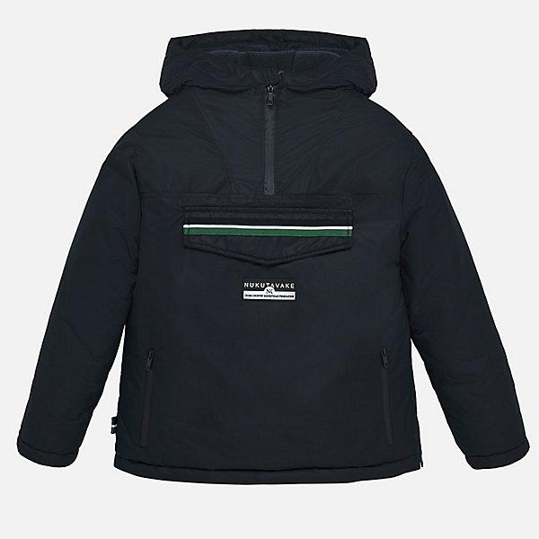 Купить Утепленная куртка Mayoral, Китай, черный джинсовый, 152, 128, 167/172, 140, 160, 164, Мужской