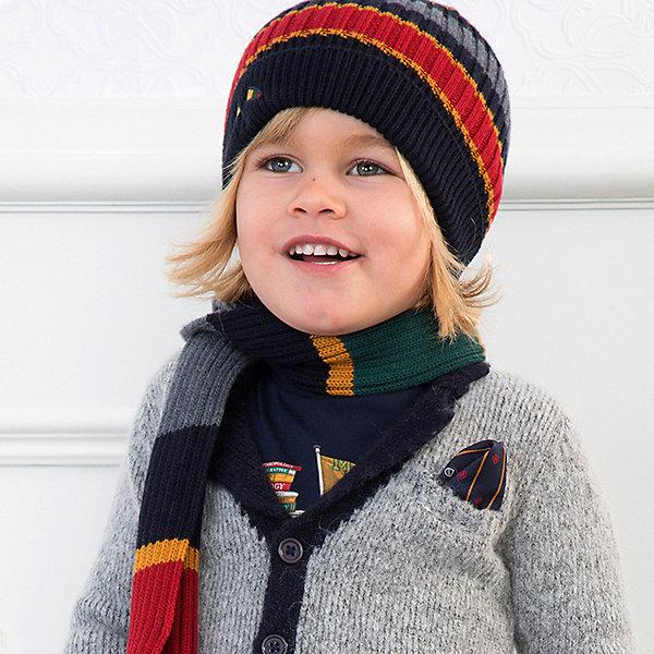 Mayoral Комплект Mayoral: шапка и шарф mayoral комплект шапка шарф для мальчика mayoral