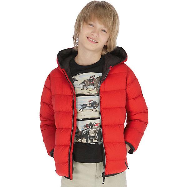 Купить Демисезонная куртка Mayoral, Мьянма, красный, 164, 160, 167/172, 152, 140, 128, Мужской